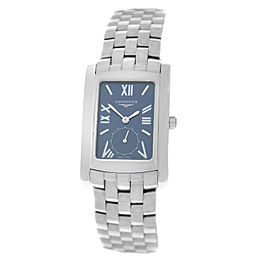 New Unisex Longines Dolce Vita L56554956 Steel Date Quartz 32mm x 26mm Watch