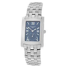 New Unisex Longines Dolce Vita L56554956 Steel Date Quartz 32mm x 26mm Watch
