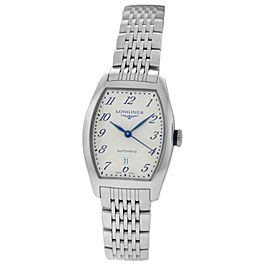 New Ladies' Longines Evidenza L21424736 Steel Automatic 30mm x 26mm $2,050 Watch