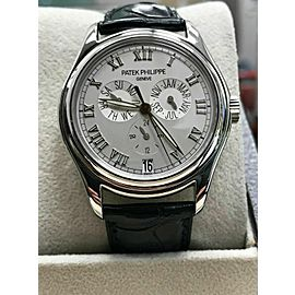 Patek Philippe 5035P Platinum Annual Calendar with Box and Brand New Band
