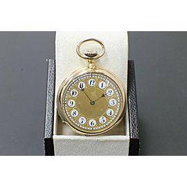 Patek Philippe 18K Rose Gold Pocket Watch 89578 Very Rare Circa 1893