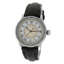 New Unisex Midsize Longines Hour Angle Stainless Steel Automatic 33MM Watch