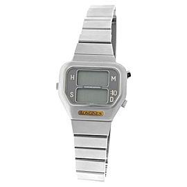 NOT WORKING Men's Longines Stainless Steel Digital Quartz 35mm Watch