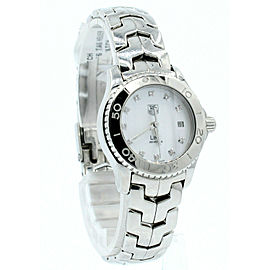 TAG HEUER LINK Ref: WJ1319-0 Quartz Diamond MOP Stainless Steel Ladies Watch