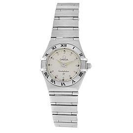 Ladies' Omega Constellation 1572.30 Stainless Steel Quartz 22MM Watch
