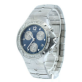 Movado Sports Edition Diamond Chronograph Quartz Watch Ref: 84 C5 1892 S