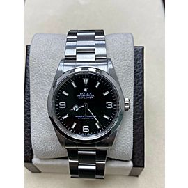 Rolex Explorer 14270 Black Dial Stainless Steel Watch