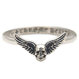 Authentic Chrome Hearts Bubble Gum Foti Mahalia Ring US4 HK8.5 EU47 Used F/S