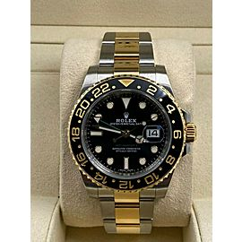 Rolex GMT Master II 116713 18K Yellow Gold & Stainless Steel Box Papers 2018