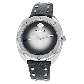 New Ladies' Versace Shadov Diamond VEBM00118 Stainless Steel Quartz 38MM Watch