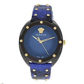 New Ladies' Versace Shadov VEBM00418 PVD Steel Quartz 38MM Watch