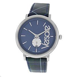 New Unisex Versace VEBQ00118 Stainless Steel Date Quartz 42MM Watch