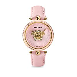 New Versace Palazzo Empire VCO030017 Gold Electroplated Steel Quartz 39MM Watch