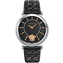 New Versace V-Helix VQG020015 Steel Quartz 38MM Watch