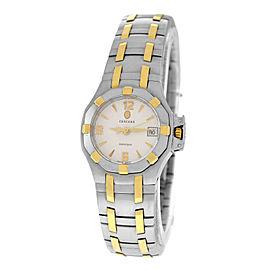 Ladies' Concord Saratoga 15.36.1840 Stainless Steel Gold 25MM Quartz Watch