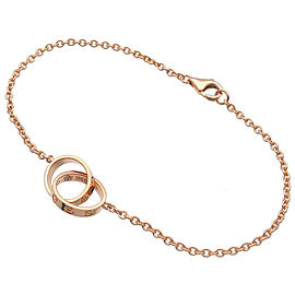 Authentic Cartier Baby Love Bracelet K18PG 750 Rose Gold Used F/S