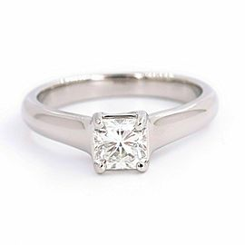 Tffany & Co LUCIDA Diamond 0.56 cts G VS1 Engagement Ring Platinum