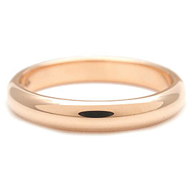 Authentic Cartier Wedding Ring K18 Rose Gold #56 US7.5-8 HK17 EU56.5 Used F/S