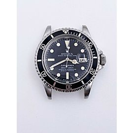 VINTAGE Rolex 1680 Submariner Black Dial Stainless Steel Head Only 1978