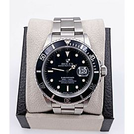 Rolex Submariner 16800 Black Spider Web Dial Stainless Steel