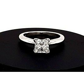 Princess Cut Diamond 1.00 Carat I VS1 GIA Solitaire Engagement Ring