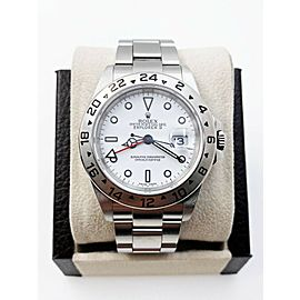 Rolex Explorer II 16570 White Dial Stainless Steel 2005