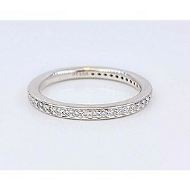 Ritani MicroPave Diamond Eternity Wedding Band in Platinum 2 MM