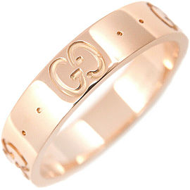 GUCCI ICON 18K Rose Gold Ring