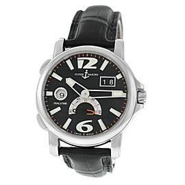 Men's Ulysse Nardin Dual Time Big Date 243-55/62 Automatic Date 42MM Watch
