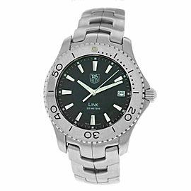 Men's Tag Heuer Link WJ1110 Stainless Steel Date 39MM Quartz Watch