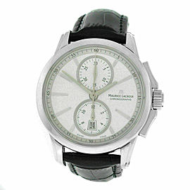 Men Maurice Lacroix Pontos PT7538/48 Stainless Steel 42MM Watch