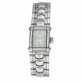 Ladies' Charriol COLVMBVS COLUMBUS CCSTRM Steel Diamond 20MM Quartz Watch