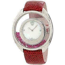 New Versace Destiny Spirit 86Q971MD497 S800 Floating Crystals 38MM Diamond Watch
