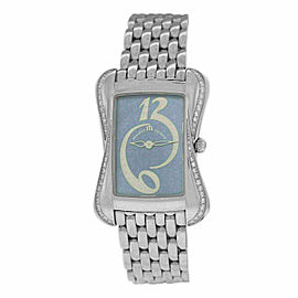 New Lady Maurice Lacroix Divina DV5012-SD532-360 Diamond MOP $3000 Quartz Watch