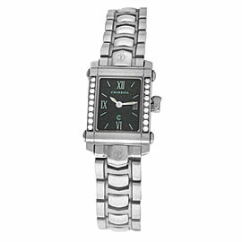 Ladies' Charriol COLVMBVS COLUMBUS 9012911 Steel Diamond 18MM Quartz Watch