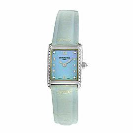 Ladies Raymond Weil Don Giovanni 5875 Steel Diamond MOP 18MM Quartz Watch