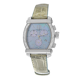 New Ladies' Charriol COLVMBVS COLUMBUS 060T Steel MOP Diamond 35MM Quartz Watch