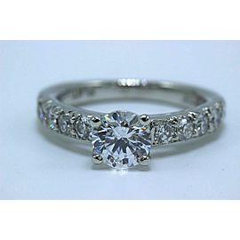 Scott Kay Platinum Diamond Engagement Ring Semi Mount 0.52 tcw