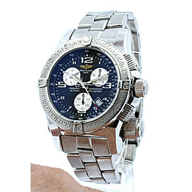 BREITLING Emergency Mission Chronograph Date Quartz Watch 45mm A73321