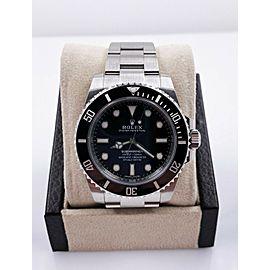 BRAND NEW Rolex Submariner 114060 Black Ceramic Stainless Steel Box Paper 2020