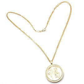 Chopard Fortune 18k Yellow Gold Diamond Pendant Necklace