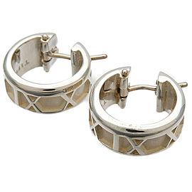 Tiffany & Co. Atlas Hoop Earring SV925 Silver