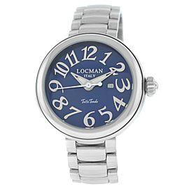 New Locman Tutto Tondo Unisex Steel Ref. 360 Quartz 40MM Watch