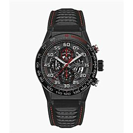 Tag Heuer Carrera CAR2A1H.FT6101 Mens Steel Black PVD Automatic 45MM Watch
