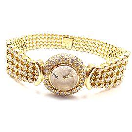 Audemars Piguet 18k Yellow Gold 8ct Diamond Ladies Watch