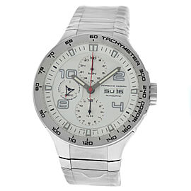 Porsche Design Flat Six P6340 6340.41.63.0251 Men's Steel Automatic 44MM Watch