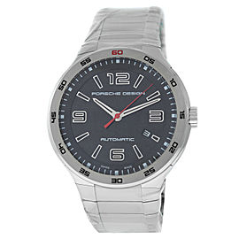 Porsche Design Flat Six P6310 6310.41.53.0249 Men's Steel Automatic 44MM Watch