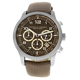 Porsche Design Dashboard Chronograph P6612 6612.11.94.1191 Men's Titanium 42mm