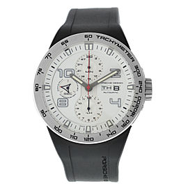 Porsche Design Flat Six Chronograph P6340 6340.41.63.1169 Automatic 44MM Watch
