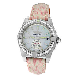 Breitling Galactic 36 A3733053/A716-239X Ladies Diamond MOP 36MM Automatic Watch